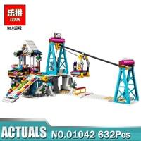 Lepin 01042 Snow Resort Ski Lift Gift Club Ski Vacation Set Building Blocks Bricks With Legoing