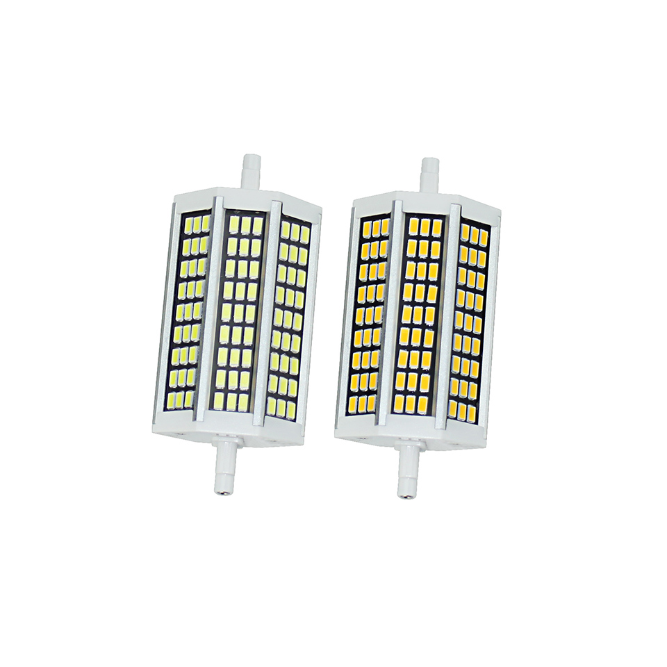 Led lamp r7s 5w 10w 13w 20w led bulb light 78mm 118mm 135mm 189mm 220v replace halogen lampada for R7s led 118mm 20w