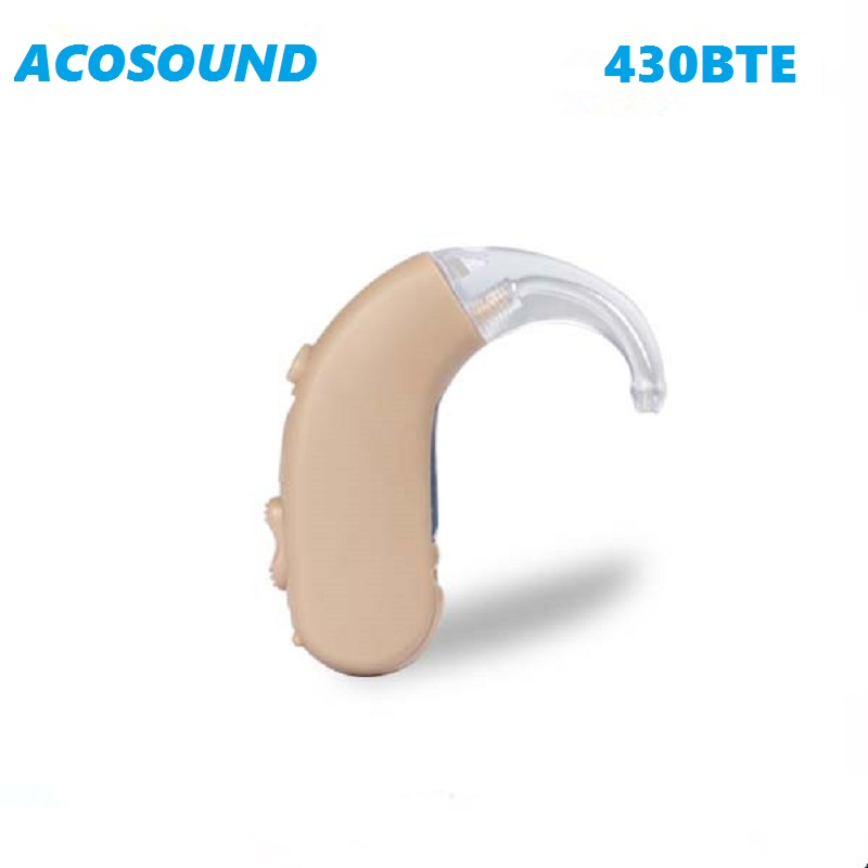 Acosound 430BTE Digital Hearing Aid Hearing Device Sound Amplifier Mini BTE Hearing Aids Ear Care For The Elderly Deaf inner ear hearing aid for deafs s 900a hottest mini listening device for elderly deaf personal amplifier free shipping