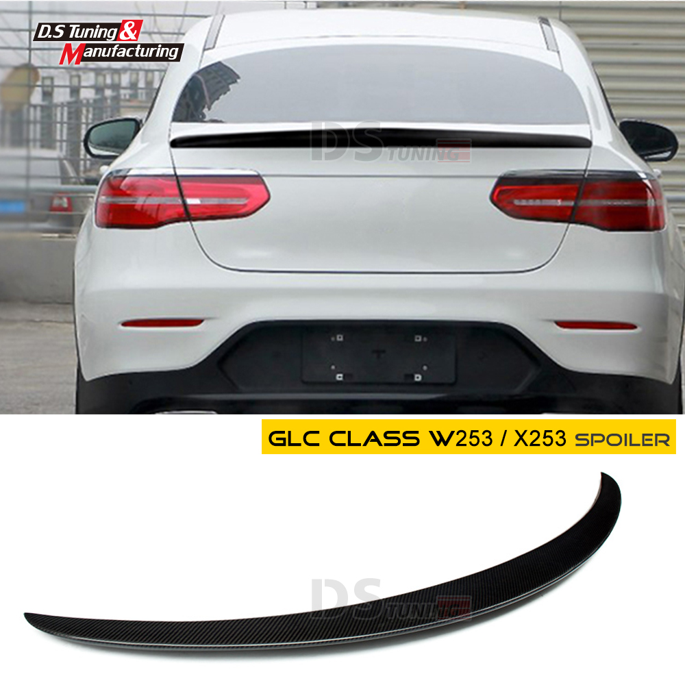 For Mercedes Benz GLC Coupe 2016-2019carbon fiber glc Spoiler Spoiler gad style