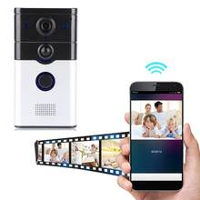 doorbell camera 720P Smart WiFi Wireless IR Video Doorbell Door Bell Home Intercom EU Plug for Phone Tablet PCs mirilla digital(China)