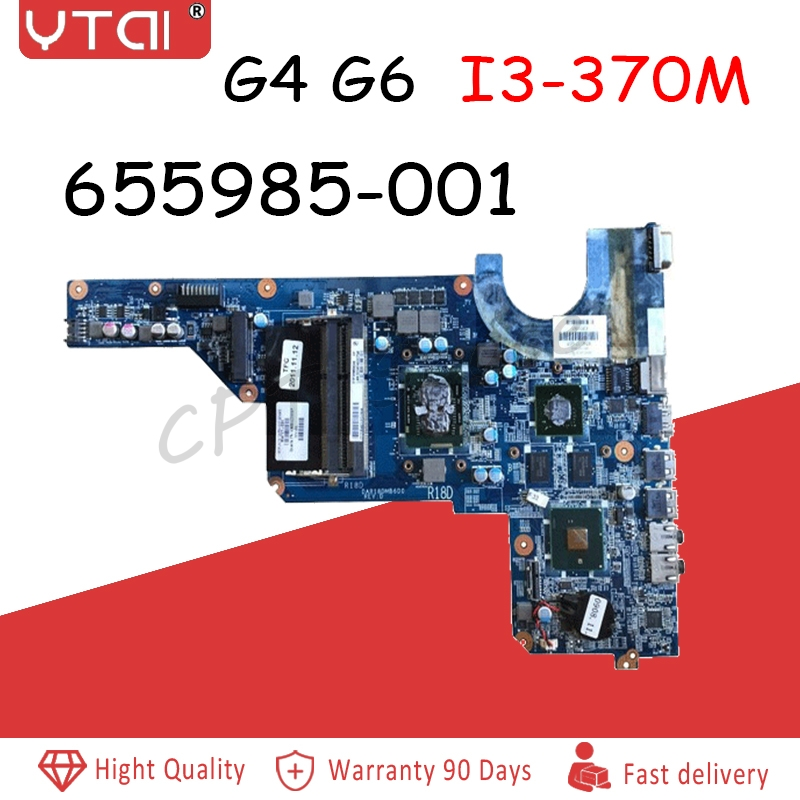 655985-001 G6-1000 motherboard  for HP G4 G6 G7 Laptop Motherboard DAR18DMB6D0 I3-370M 520M 1G OK  Free Shipping655985-001 G6-1000 motherboard  for HP G4 G6 G7 Laptop Motherboard DAR18DMB6D0 I3-370M 520M 1G OK  Free Shipping