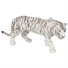 Albino male Tiger animals Anime models toys hobbies action toy figures anime games birthday gifts