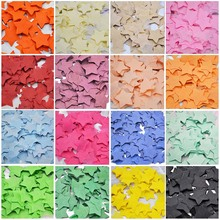 1000pcs 1inch Star Shaped Paper Confetti Wedding Birthday Decor Baby Shower Cake Topper Table Decoration Even Party Supplies