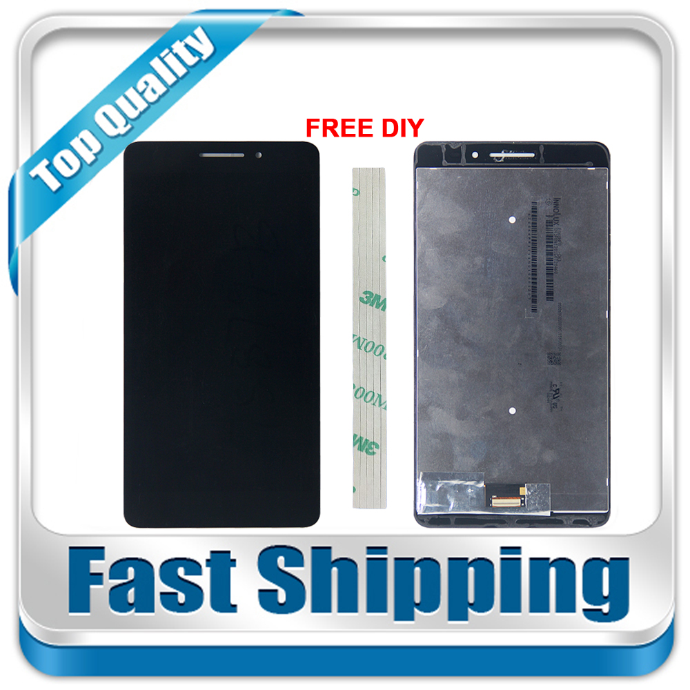 все цены на New For Lenovo Phab Plus PB1-770N PB1-770M PB1-770 Replacement LCD Display Touch Screen Assembly White Black