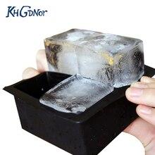 Большой размер большой кубик льда квадратный Лоток Плесень бар кухонные принадлежности