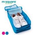 Acessórios Para O Saco de Sapato de Viagem M Quadrado Mulheres Homens Bagagem Portátil Tote Multifunções Embalagem Cubos de Armazenamento Caso Organizador