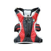 New Arrival Large Dog Harness Soft Walk Vest Training Vest With Quick Control Handle Strap 2 Colors Size S to XL