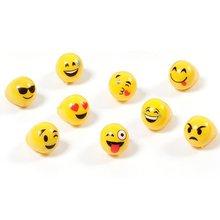 KUMEED Bright Flashing Emoji LED Rings Pack of 36