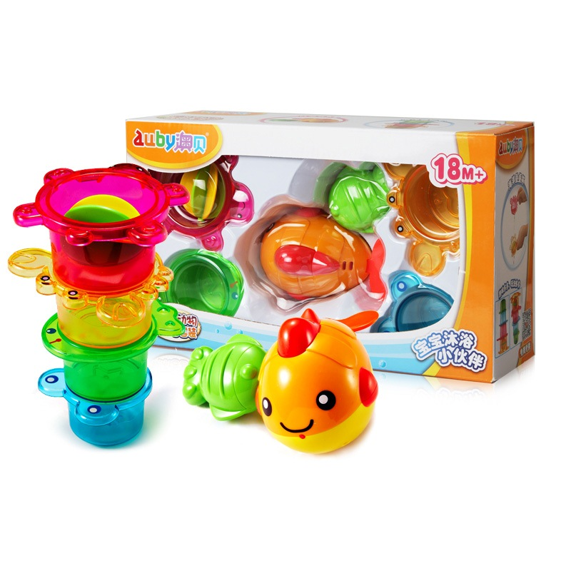 5pcs bath toy Bathing suits toys Beach Toy Ocean animals fish crab tortoise frog bath toys in the bath piscine duck frog cute baby rattle bath toy squeeze animal rubber toy duck bb bathing water toy race squeaky yellow duck classic toys reborn gift