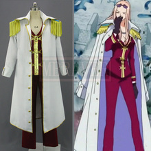 Free Shipping One Piece Hina cosplay Costume