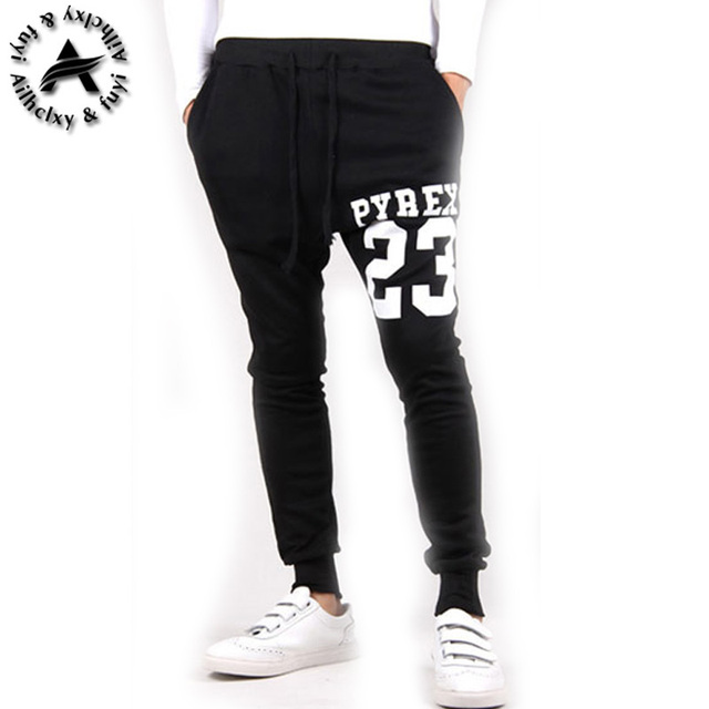 Men Casual Pants Cool New Casual  Pants  Tracksuit Trousers Men Harem Sweatpants Hip Hop Loose Pants Mens Joggers