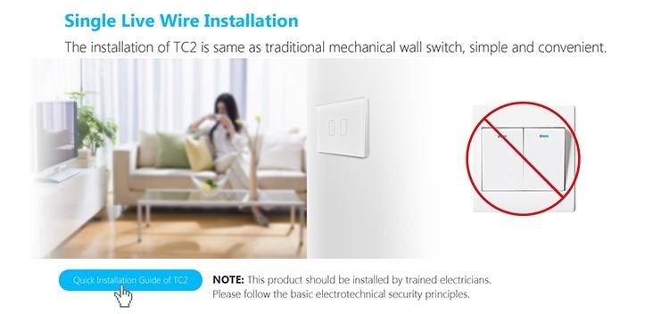 2018 Broadlink TC2 US/AU version 1 2 3 Gang WiFi Accueil automatisation Intelligente Télécommande Led Lumière Switche Tactile Panneau via RM Pro + 16