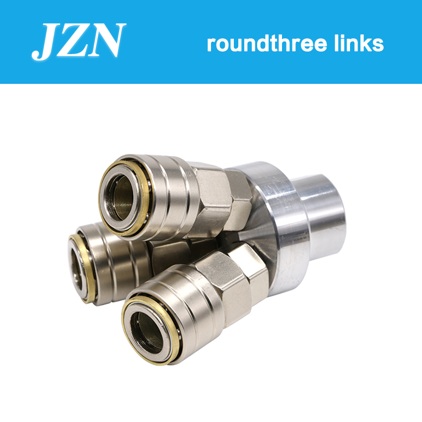 1 PCS C-type pneumatic quick connector self-locking round three ventilation tube plug male and female air pump air compressor1 PCS C-type pneumatic quick connector self-locking round three ventilation tube plug male and female air pump air compressor