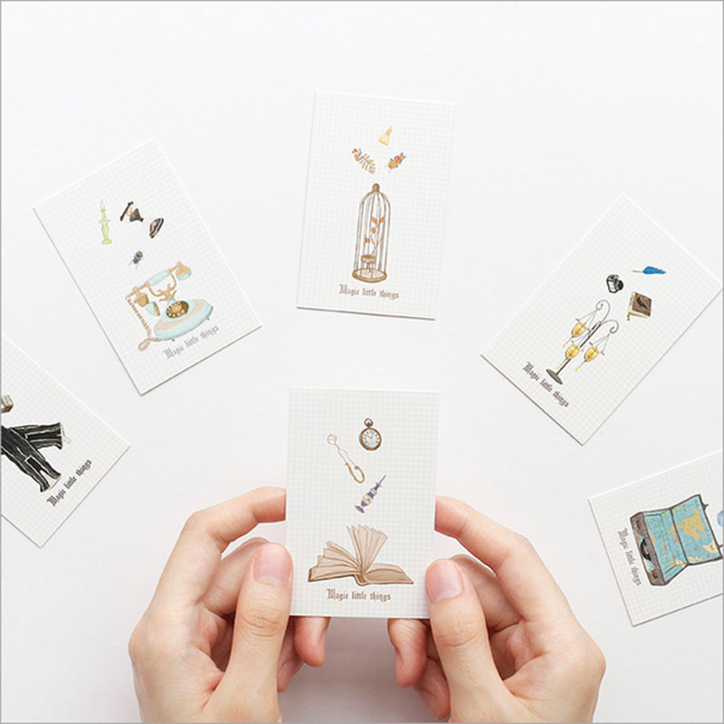 28 Pcs/lot Creative Cute Magic Hand Post Card Postcard Birthday Greeting Card Letter Envelope Gift Card Set Message Card