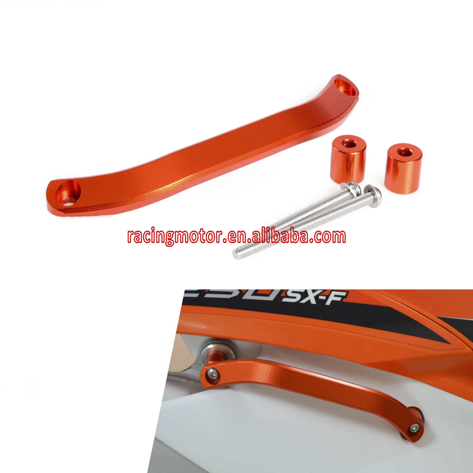 ФОТО CNC Billet Grab Handle for KTM 125 200 250 300 350 450 500 SX SX-F EXC XC-W XC-F EXC-F XCF-W SMR SXF XCF SIX DAYS