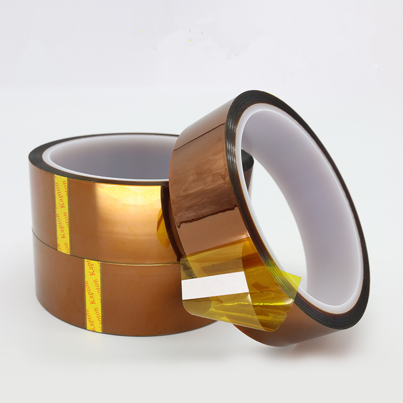 Image 3 - Brown High Temperature Polyimide Insulating Tape Soldering Resistance Battery Circuit Board Tape Transformer Electric-in Tape from Home Improvement