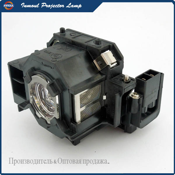 Inmoul Original Projector Lamp EP41 for PowerLite S5/PowerLite S6/PowerLite W6/EX21 epson elplp41 v13h010l41 replacement lamp for eb s6 x6 s62 x62 s6lu x6lu tw420 eh tw420 w6 emp 260 77c s5 x5 s6 x6 x52 projector