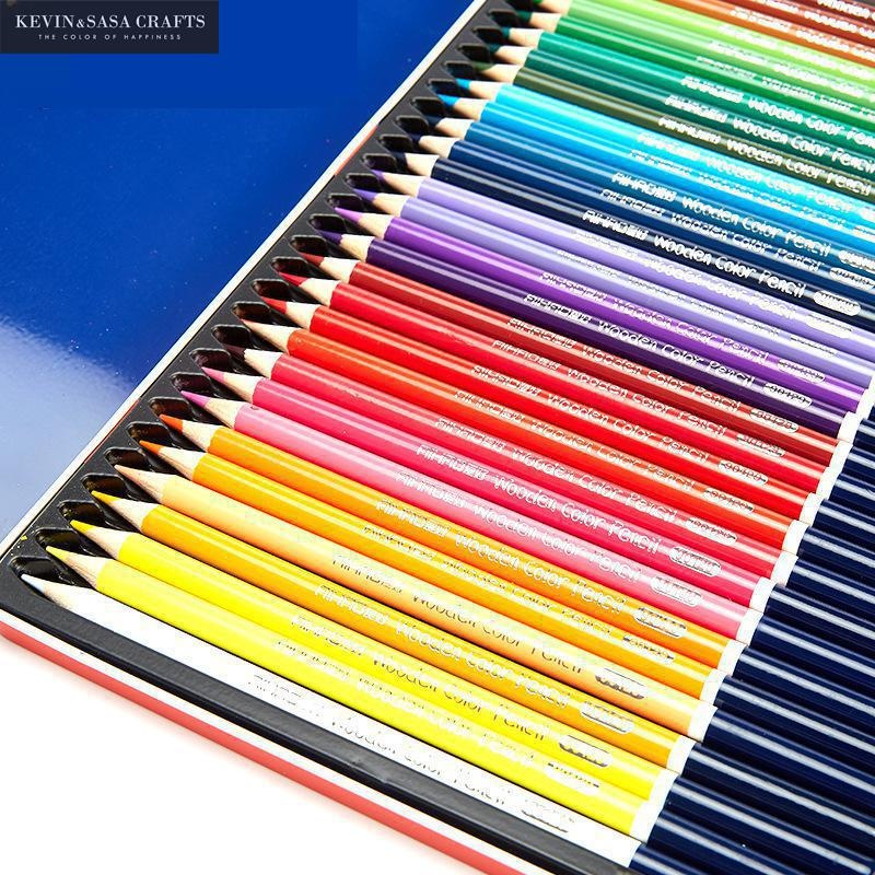 New 12/18/24/36 Watercolor Coloured Pencils Set Tin box Colored Pencil For Gifts Writing Drawing School Art Supplies Gift Set writing