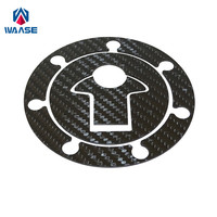waase RC125 RC200 RC390 Motorcycle Real Carbon Fiber Fuel Cap Filler Pad Cover For KTM 125 200 390 Duke / RC