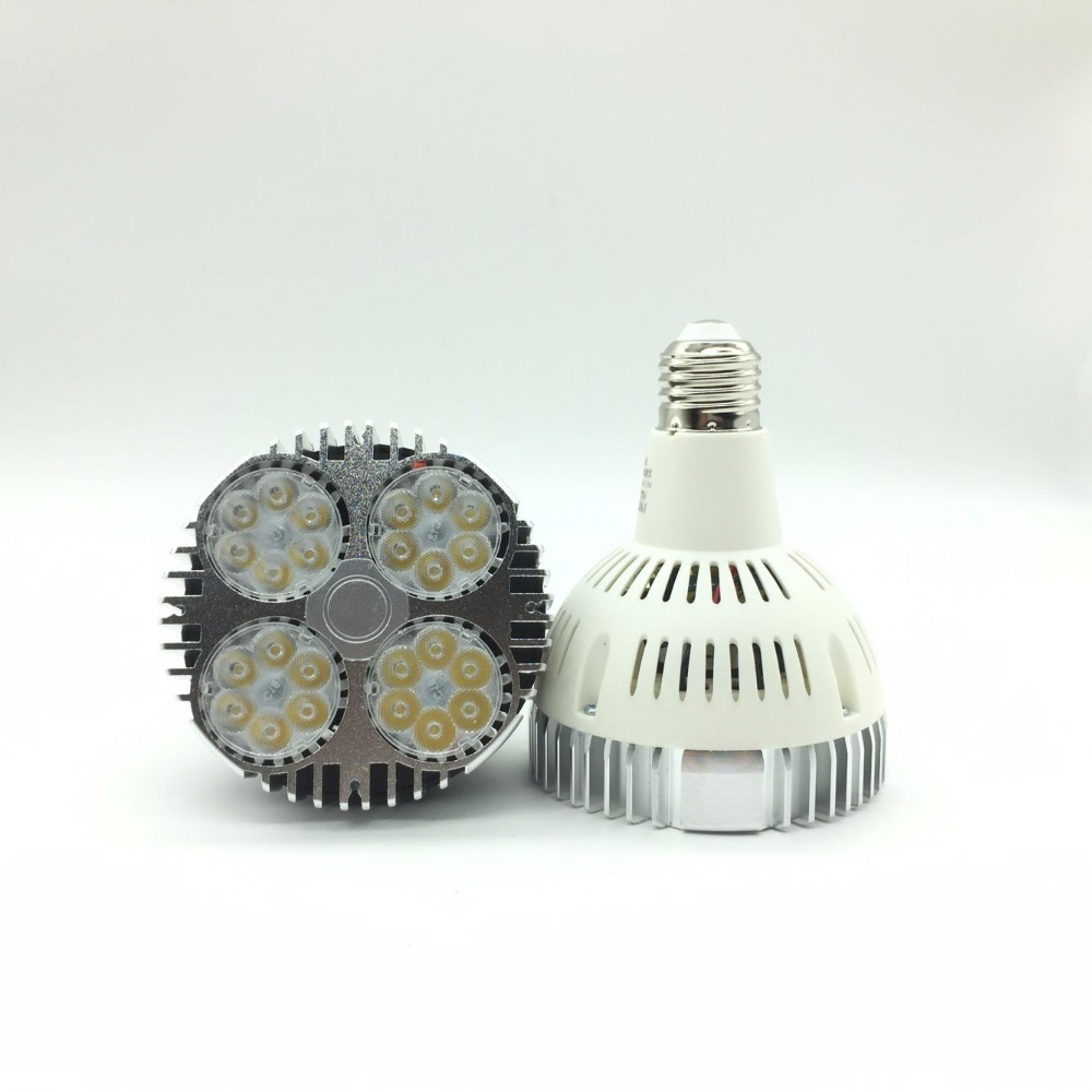 Wholesale 50pcs/lot High Power Par30 Light Led Bulb,35W 85-265V Par30 Led,High Lumen Led Light 35W Led Par30
