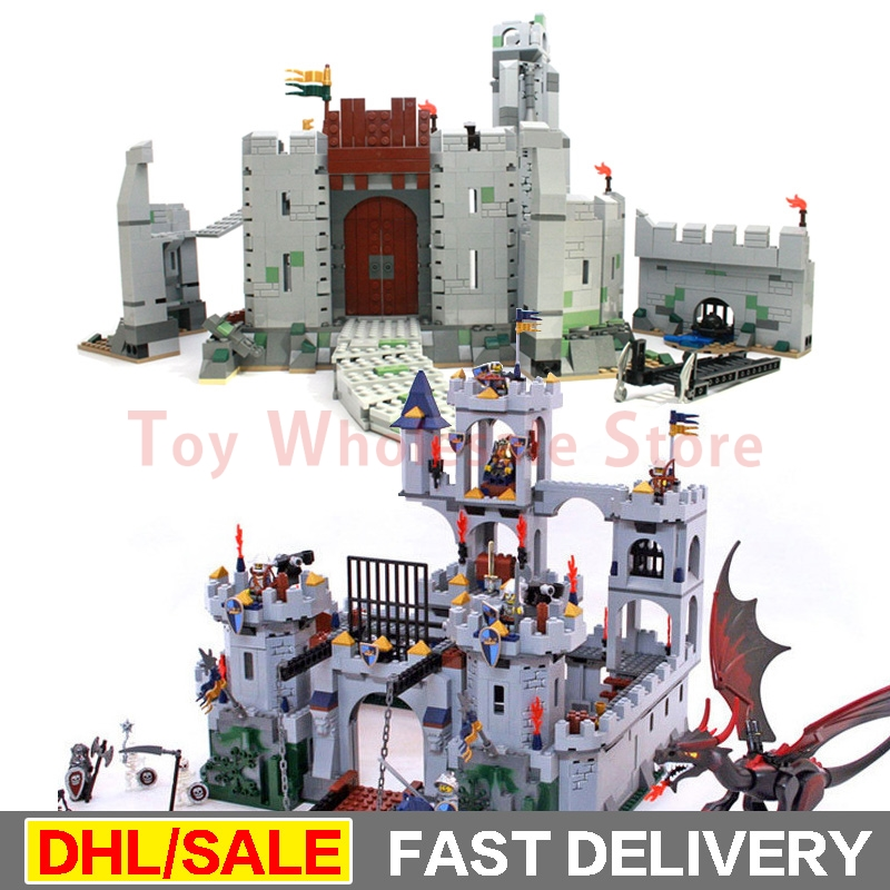 Lepin 16017 Castle Kits Lepin 16013 Lord of the Rings Battle Of Helm' Deep Building Block lesoings Toys 7094 9474