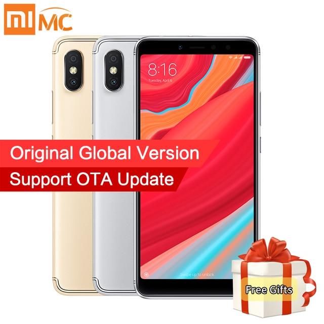 Global Version Xiaomi Redmi S2 3GB 32GB 5.99 Inch 18:9 Full Screen Mobile Phone Snapdragon 625 Octa Core 16MP Front Camera MIUI9