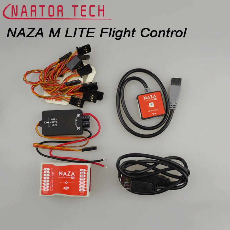 New NAZA M Lite Multi Flyer Version Lite NAZA MG Lite Flight Control Controller PMU & LED & Cables f18471 m8n gps compass module for naza m v2 lite flight controller board