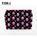 Fashion Women Travel Cosmetic Bag Organizer Skull Cosmetic Box for Make Up Luxury Brand Profissional Toiletry Bag for Ladies