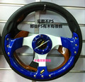 2015 Cheap imitation MOMO Racing universal steering wheel PU 13-inch red / blue / black / silver / carbon fiber