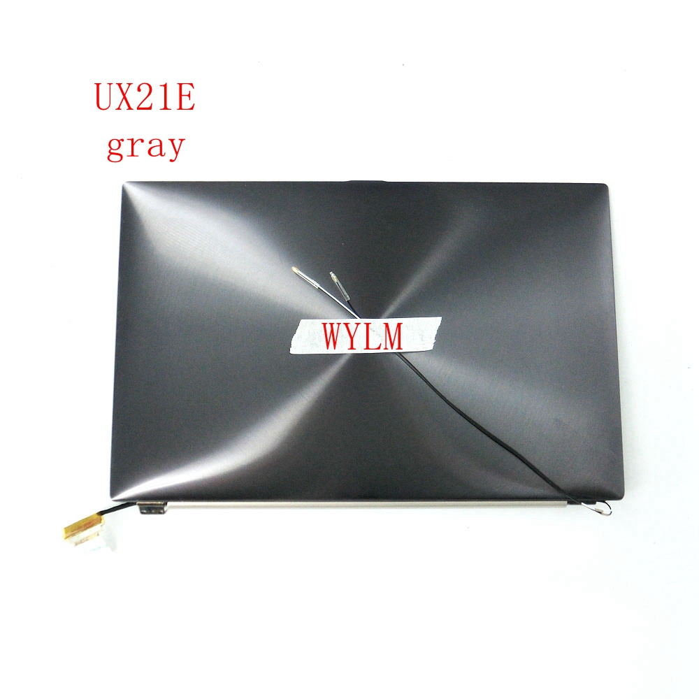 For Asus UX21 UX21E Laptop LCD digitizer display screen with frame 11.6 inches 1366*768 Metal ash/gold 100% tested Good working genuine battery for asus ux21 li2467e ux21edh52 c32 ux21e ux21 ux21a ux21e c23 ux21 7 4v 4800mah 35wh laptop