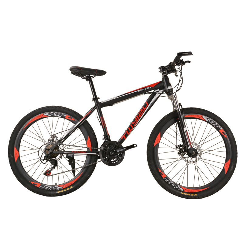 Bicycle Mountain Bike 26-inch Steel Shock Absorption 24-Speed Mountain Bikes Variable Speed Bicycle image