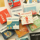 Paper Sticker Decoration Label Sticker Set Adhesive Sticker Seal Labels For Envelope Seal Sticker Label Scrapbooking