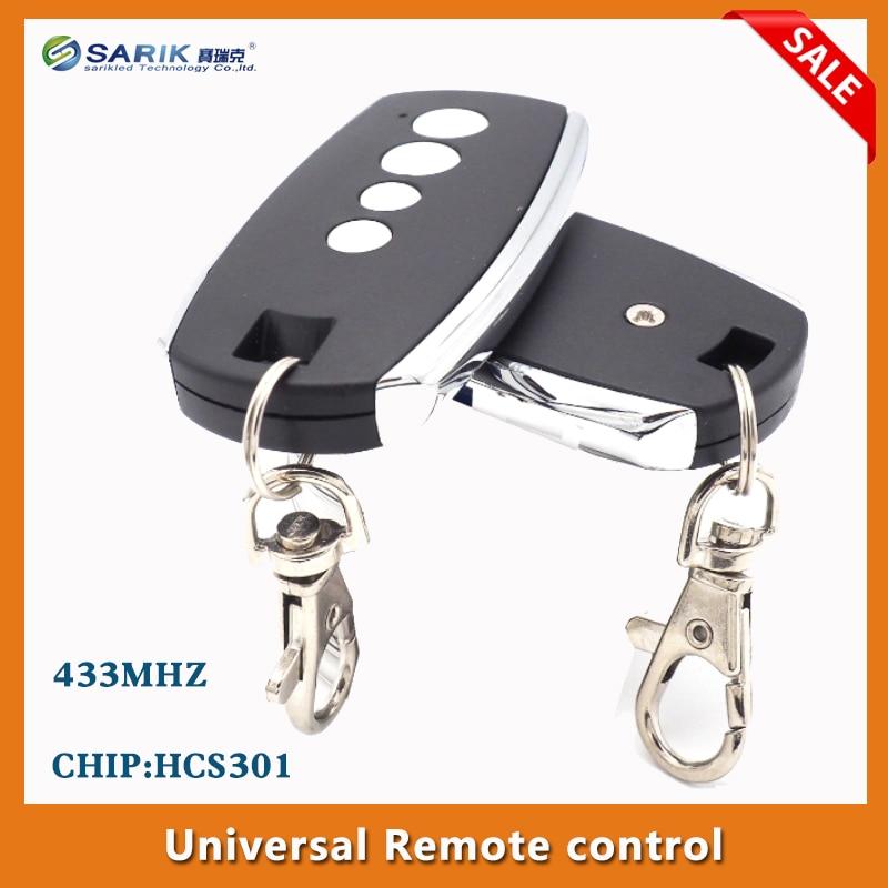 5pcs lots Rolling code remote control HCS301 universal garage remotes remote rf control