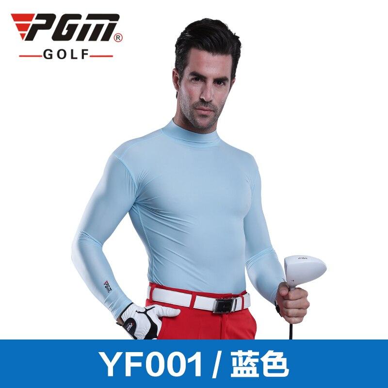 Brand Pgm Mens Golf Apparel Pro Long Sleeve Base Layer Fitted Dri-Fit Shirt Long Sleeve Shirt Mens Golf Apparel Workout Shirt