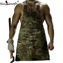 SINAIRSOFT 11 Color!Unisex Sleeveless Tactical Vest Apron Pinafore Camouflage Technician Mechanic Multicam LY1402