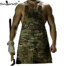 SINAIRSOFT 11 Color!Unisex Sleeveless Tactical Vest Apron Pinafore Camouflage Technician Mechanic Apron Tactical Multicam LY1402 недорого