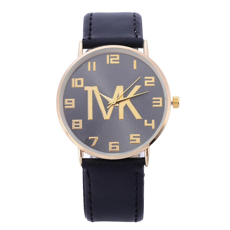 New Luxury Brand TVK Elegant Simple Casual Quartz Watch Women Rosy Gold Leather Strap Watches  Ladies Wrist Watch Hot Sale Clock