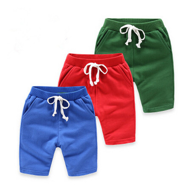 1 10Y Baby Boy Short Pants Children Casual Summer Shorts Baby Boys Panties Solid Color Kids