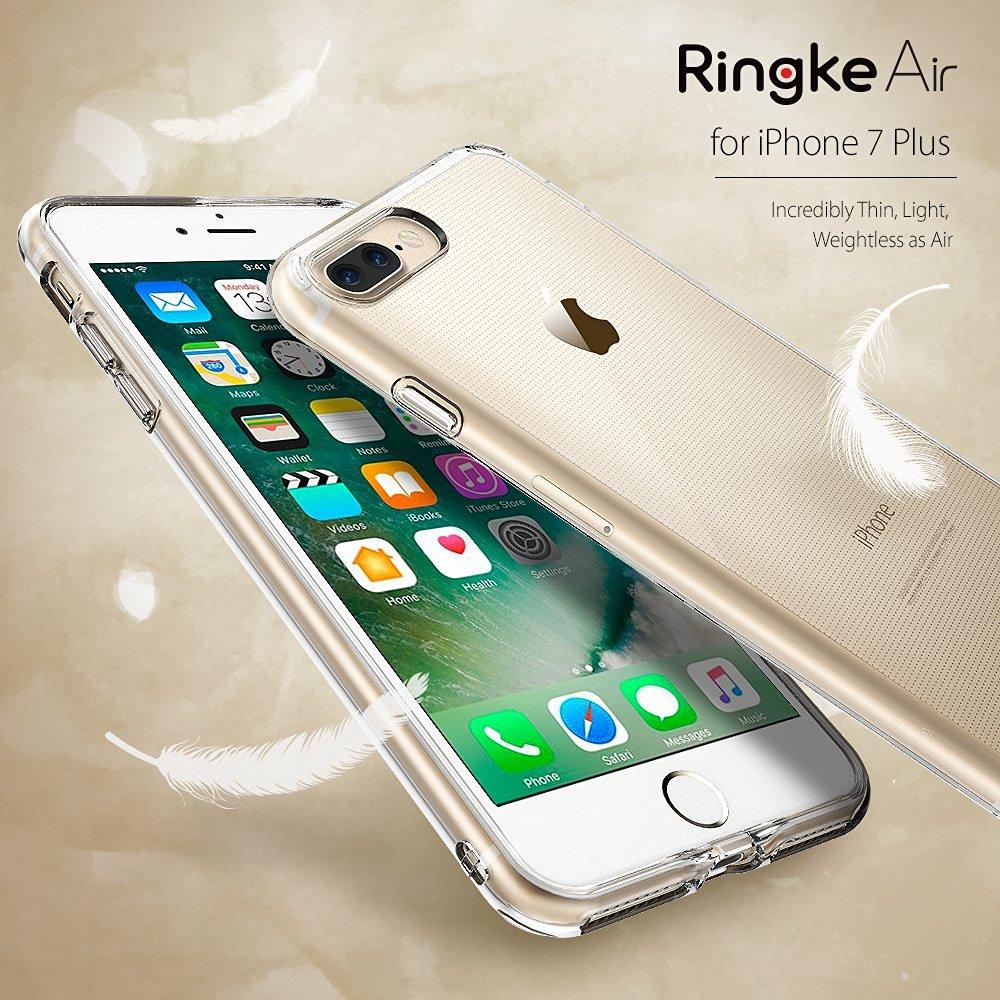 imágenes para Caso para Apple iPhone 7 Más Caso Ringke Original Ringke Extreme Aire Ligero Thin Clear TPU Flexible Suave Cubierta Resistente A Los Arañazos