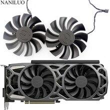 2PCS/Lot PLA09215B12H 12V 0.55A 86mm 4Pin For EVGA GTX1080TI SC GTX 1080 Ti SC Black Edition SC2 Fan Graphics Card Cooling Fan