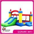Frete Grátis, apaixonado Por Crianças bouncy castelo inflável e slide combo, casa do salto, pulando do castelo