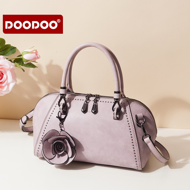 DOODOO Brand Female Crossbody Bags Handbags High Quality Bolsa Tote Luxury Flowers Women Messenger Bags Small Purse Shoulder Bag 2018 women messenger bags vintage cross body shoulder purse women bag bolsa feminina handbag bags custom picture bags purse tote