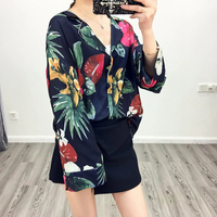 Floral Blazer Women Long Sleeve Women S Blazers Female Blazer 2017 Summer Autumn New Jacket For