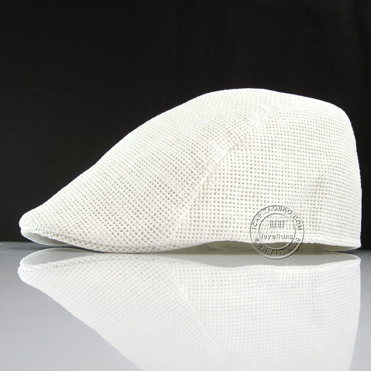 Straw Gatsby Cap Adult Summer Sunshade Berets Cool Newsboy Caps Casual Ivy Hat