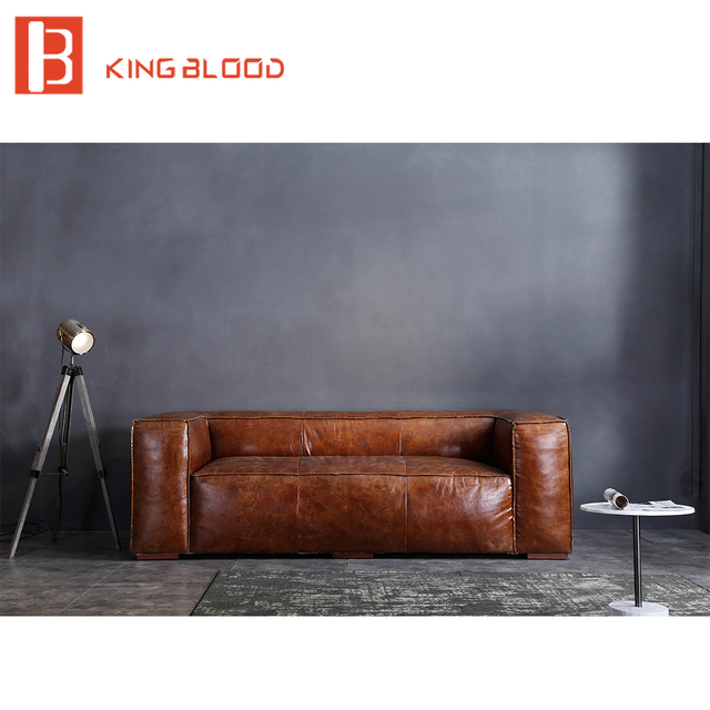 European luxury style italian leather sofa set for living room ...