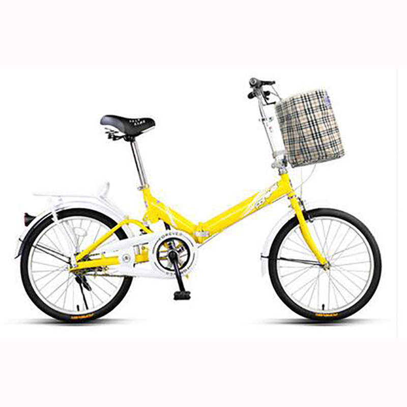 Folding Bicycle 16/20 Inch Adult Male Female Students Children 4-8 Years Old Bicycle Super Light