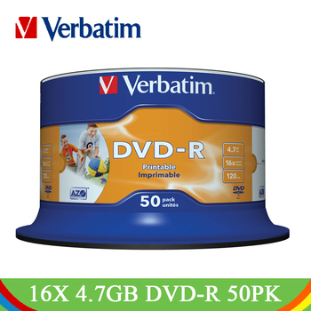 Verbatim Write DVD Drives 16X4.7GB Print...