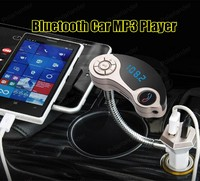 Car MP3 Player Bluetooth FM Transmitter FM Modulator HandsFree Car Kit LCD Display USB Charger