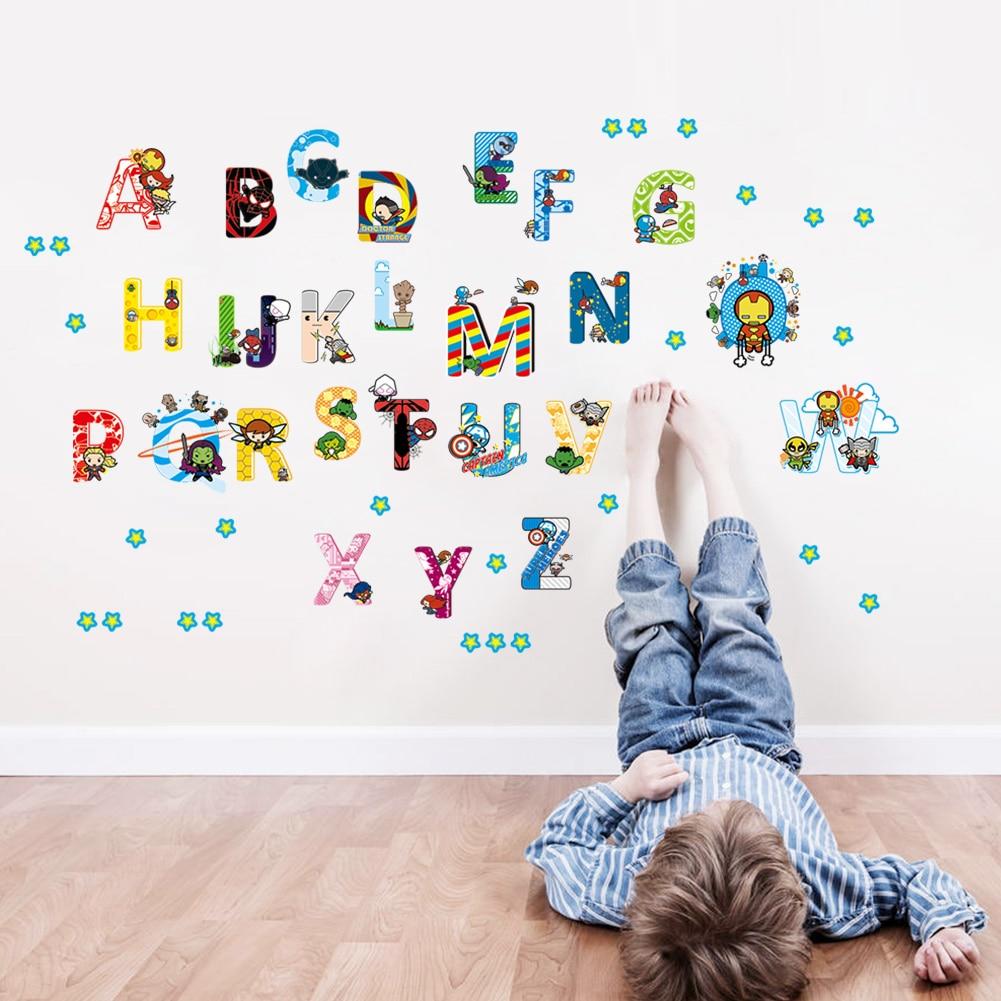Popular Alphabet Wall StickersBuy Cheap Alphabet Wall Stickers - Vinyl wall decals alphabet